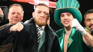 Conor McGregor walkout with Michael Conlan pro debut as Irish Fans Roar at MSG