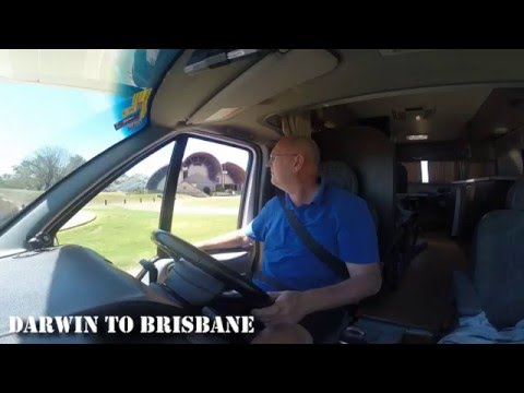 Darwin to Brisbane Road Trip (Karaoke style)
