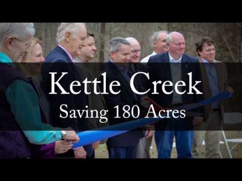Kettle Creek: Saving 180 Acres