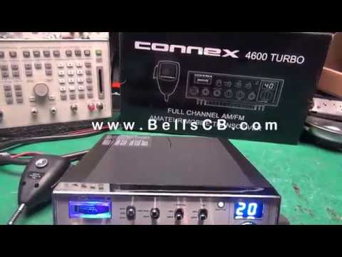 Connex 4600 Turbo Tune-up Report