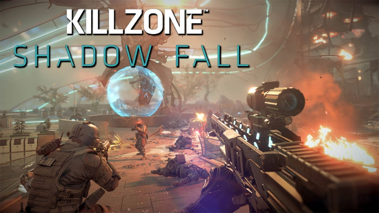 Killzone Shadow Fall Gameplay PS4 Part 3: Disable The Alarms - YouTube