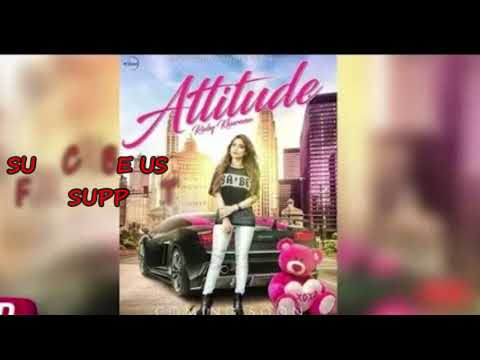 Attitude (LYRICS) | Ruby Khurana | New/Latest Punjabi Song 2018 |