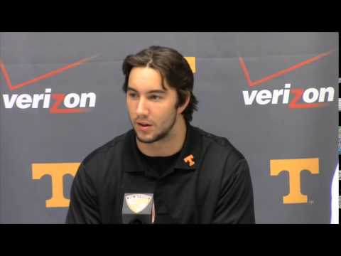 Justin Worley and Marquez North Press Conference (8/26/14)