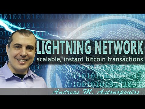 Bitcoin Lightning Network, 3rd Layers and future possibilities - Andreas Antonopoulos