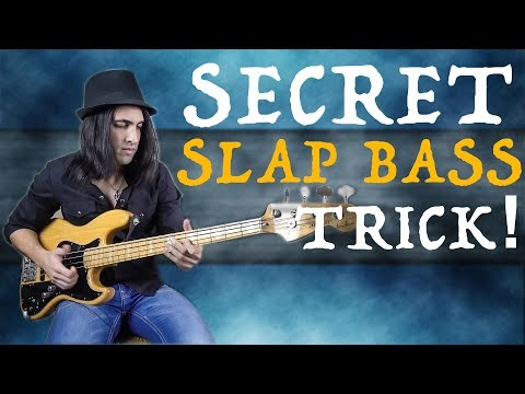 AWESOME Thumb Trick to Play Slap Bass in ALL KEYS!