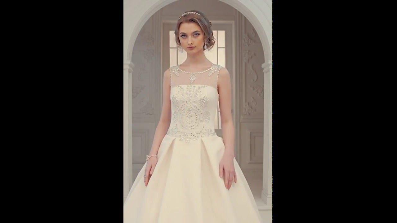 fd4888716e001 فيديوهات فساتين عرائس. فل وياسمين لبدلات العرائس