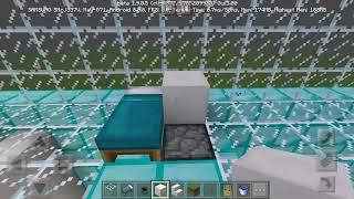 Minecraft Pocket Edition creative mode my diamond House episode 2