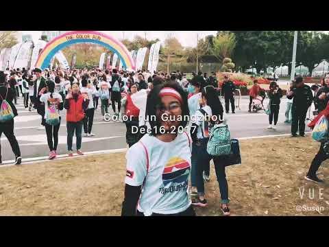 Color run in Guangzhou 2017