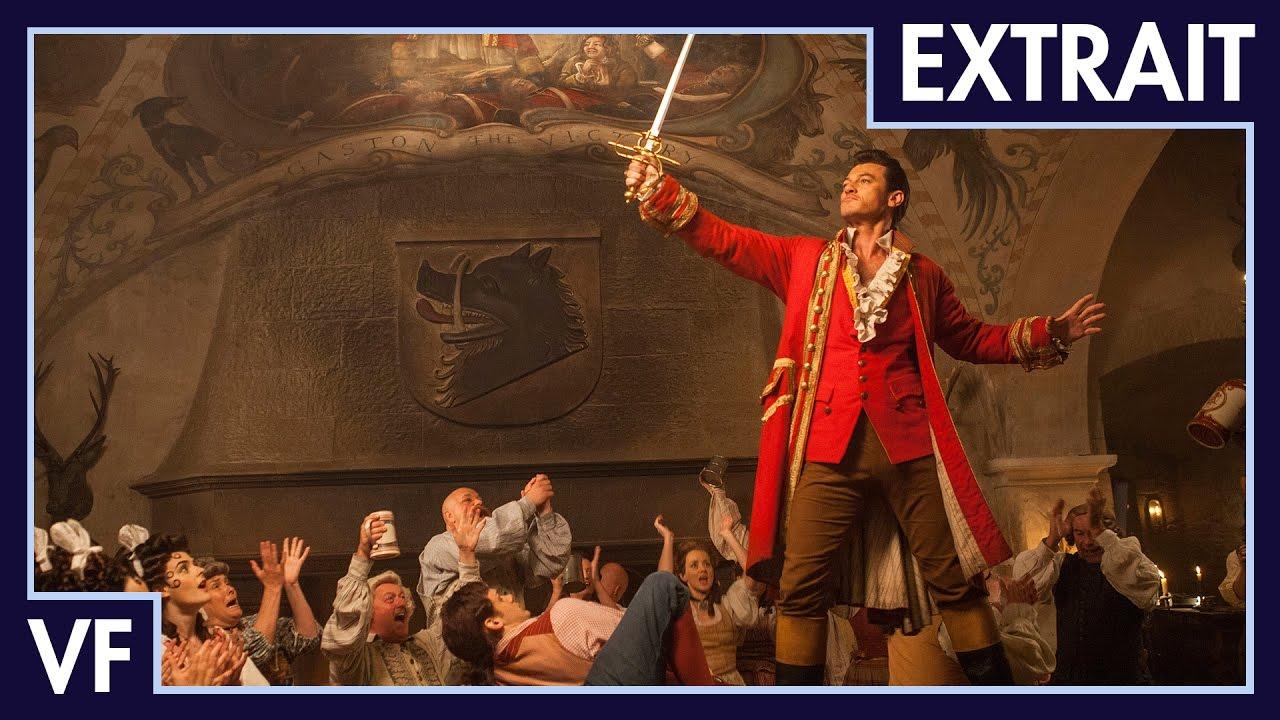 La Belle et la Bête (2017) - Extrait : Gaston (VF) I Disney