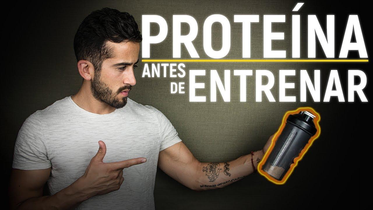 Cuando es mejor tomar la proteina antes o despues del entrenamiento