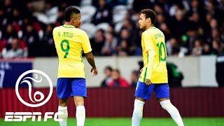 Neymar and Gabriel Jesus trade nutmegs | ESPN FC