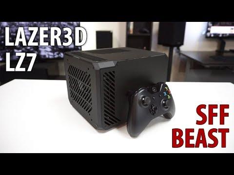 Lazer3D LZ7 Mini-itx Case Review & Build
