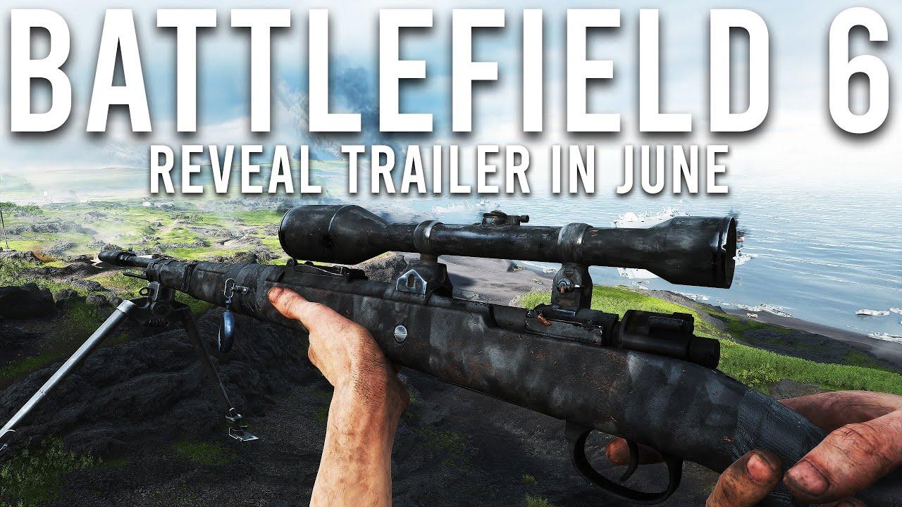 Battlefield 6 Reveal Trailer in June!