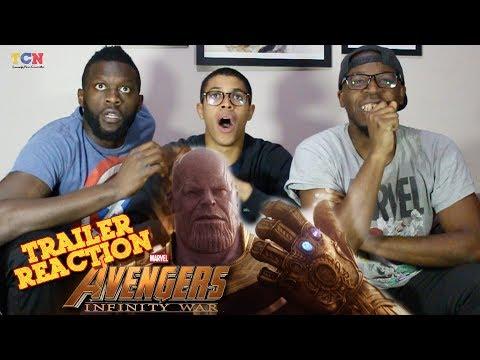 Avengers  Infinity War Official Trailer Reaction