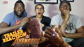 Avengers  Infinity War Official Trailer Reaction