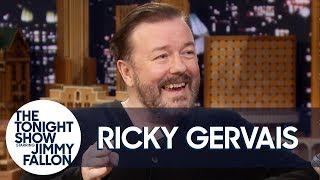 Ricky Gervais Rips on Annoying Travelers and Why Death Is Like Stupidity