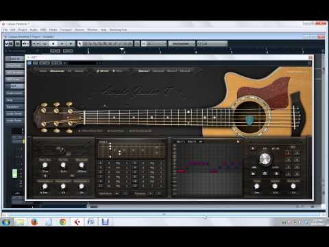 [Tutorial] Instant Strumming on Ample Guitar on Cubase