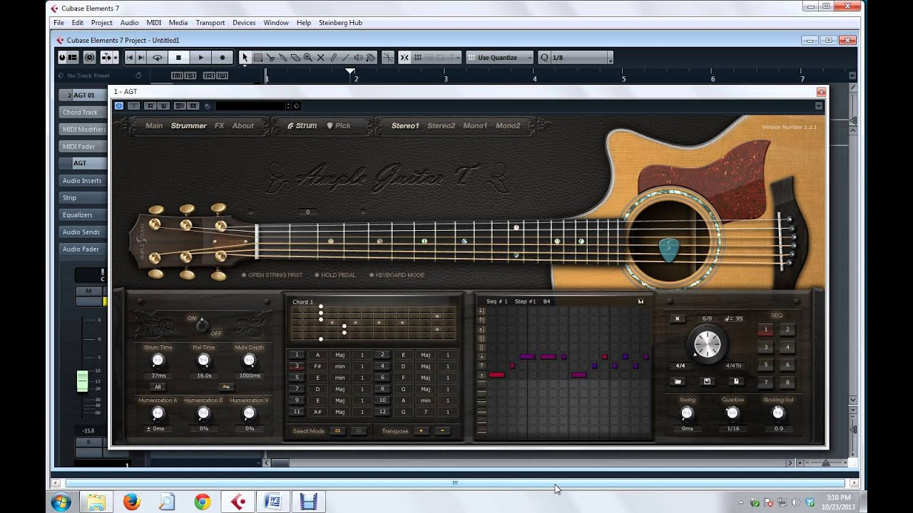 tutorial instant strumming on ample guitar revised on cubase rh youtube com