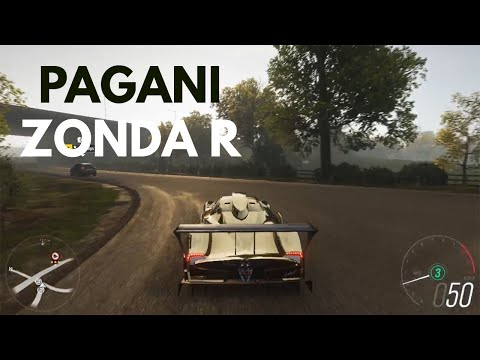 forza-horizon-4-pagani-zonda-r-sprint-without(steering-wheel-+-paddle-shifter)-logitech-g29-gameplay