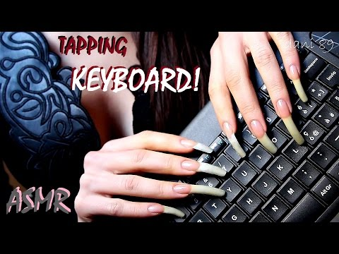 🎧 How I type on keyboard? 👂.......in this way 👀 watch me! ↬ intense ASMR ↫ ✶ 💤