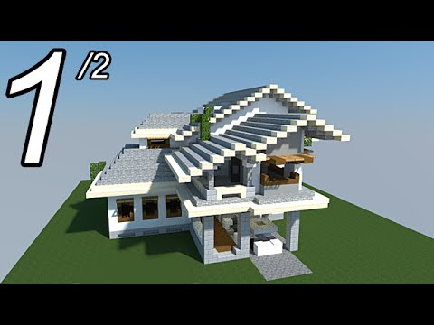 Minecraft tutoriel maison facile faire 1 2 youtube - Faire plan maison facile ...