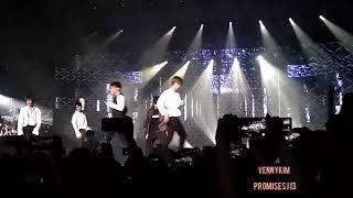 빅톤 VICTON - 고민 보다 GO (GOGO) (cover bts) HALLYU POP FEST SINGAPORE 2018