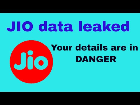 Reliance Jio Consumer information leaked || Database got hacked ||