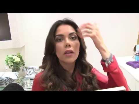 Elimine as rugas e o bigode chinês com massagem, Daniela Albuquerque ensina