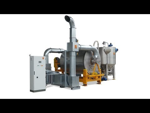 Bio Malting Machinery - Drum Malting System With Macerator