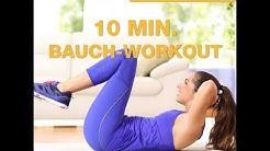 10 Minuten Bauch-Workout zum Mitmachen