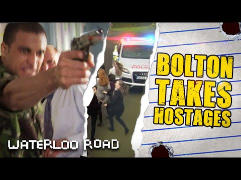 Waterloo Road Evacuated As Unstable Bolton Loses His Cool | Waterloo Road