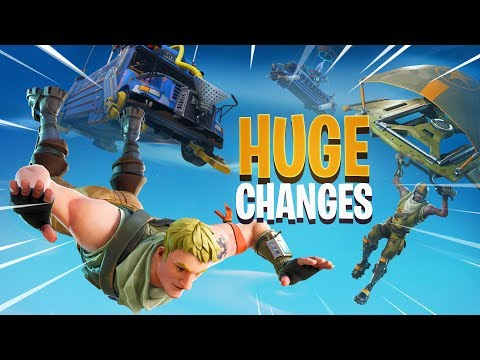 MASSIVE CHANGES to Fortnite Today (ALMOST ALL GOOD)