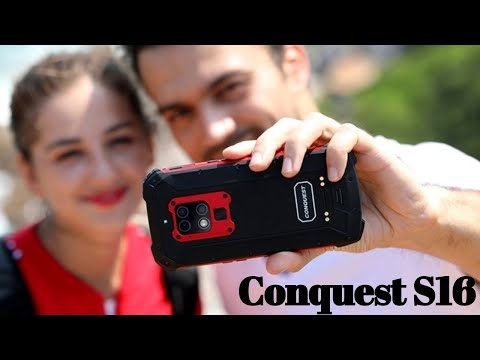 Conquest S16  Helio P90 Prosessor 48MP Camera Rugged Smartphone
