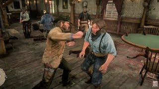Bar Fight - Old West - Red Dead Redemption 2