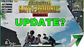 WHERE IS THE UPDATE? | PUBG MOBILE