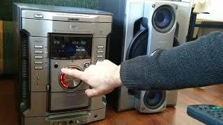 Sony müzik seti demo