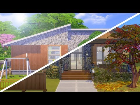 RENOVATING THE OFFICIAL SEASONS HOUSE // The Sims 4: Fixer Upper |