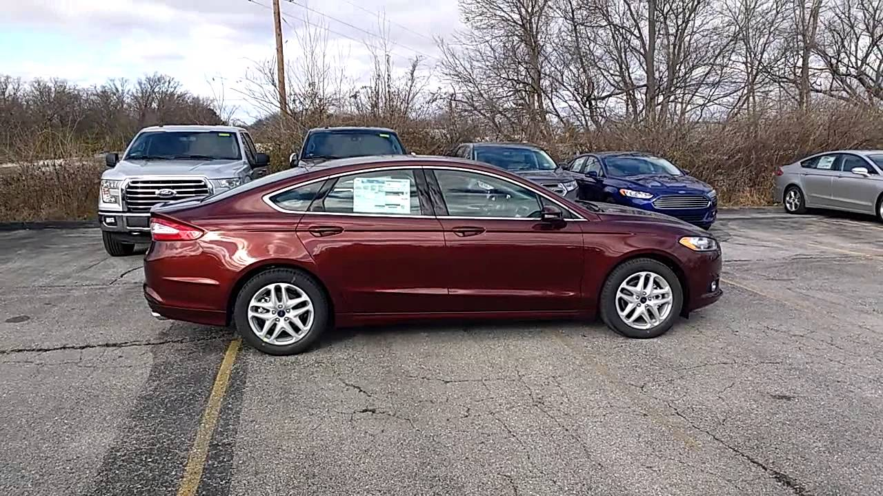 Bronze Fire 2016 Fusion Se Fwd 1 5l 202a Moonroof Tech Myford Touch Marshall Ford