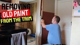 Removing Old Paint from Trim