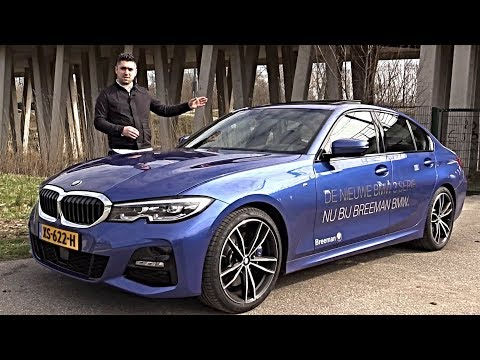 BMW 3 Series 2019 REVIEW - NEW Interior Exterior Infotainment   Mercedes C Audi A4 Rival
