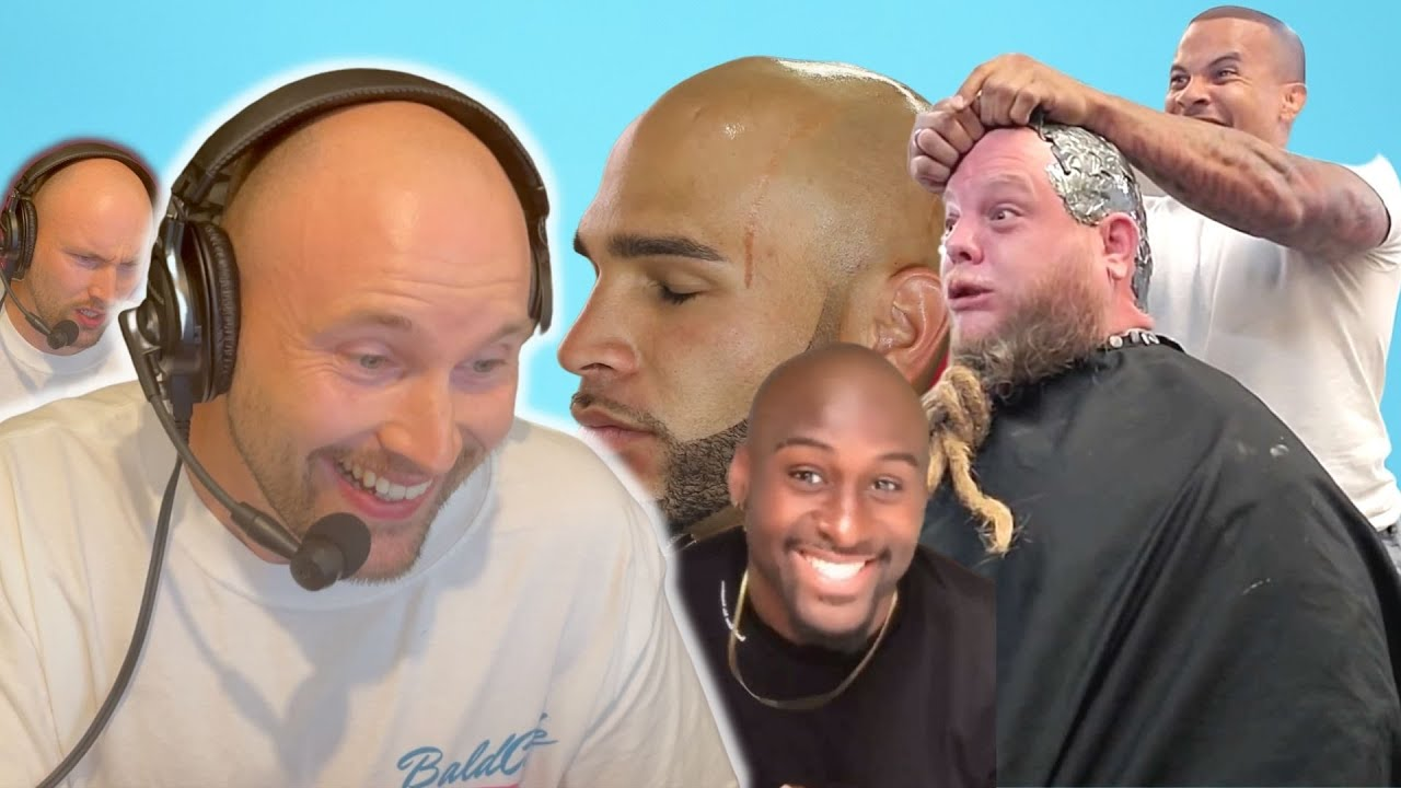 BALD MEN TOP VIRAL VIDEOS - Baldcafe REACTS!