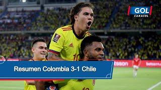 Colombia vs Chile (3 - 1): resumen del partido – Eliminatorias Sudamericanas