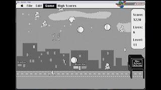 Slime Invaders v1.0 (1992, Macintosh) - 4537 Points, 13 Levels [720p]