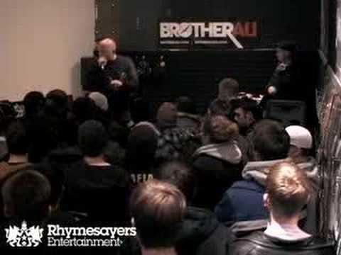 Brother Ali Release Show