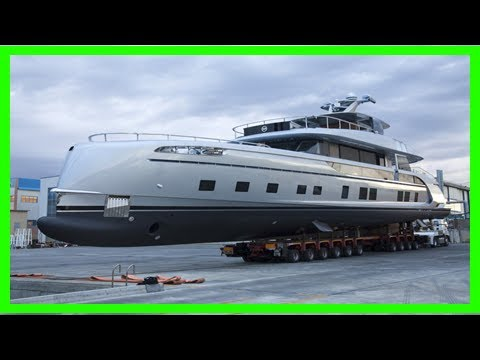 Breaking News | Now there's a porsche superyacht because regular yachts are for suckers