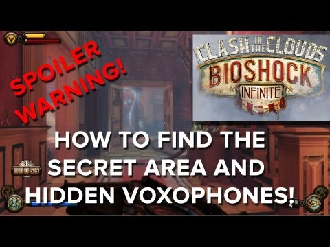 Bioshock Infinite: Clash In The Clouds DLC - Secret Area and Voxophones! - Eurogamer