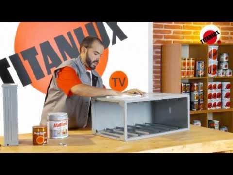 Pintar con efecto madera youtube - Como pintar muebles de madera ...