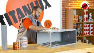 Pintar con efecto madera