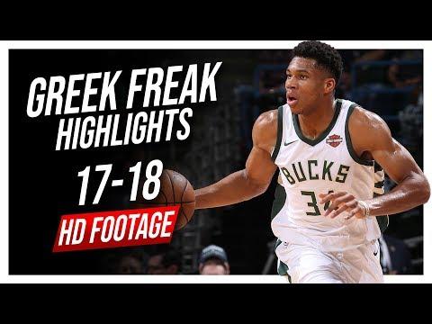 Bucks PF Giannis Antetokounmpo 2017-2018 Season Highlights ᴴᴰ