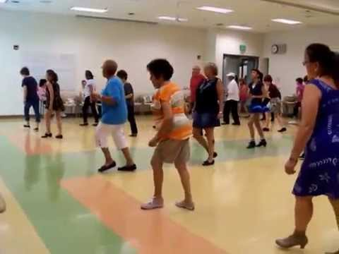 Mercy Mercy Me line dance taught by Gail in Las Vegas NV.